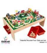 Kid Kraft Waterfall Mountain Train Table