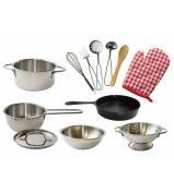 Deluxe Kitchen Pots and Pans (12 Pc)