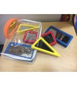 Foam Mirrors - Set of 10