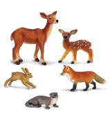 Safari Ltd Native Forest Animal Set