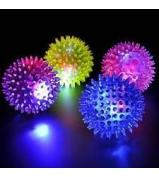 Spiky Light Balls 4 Pcs Set
